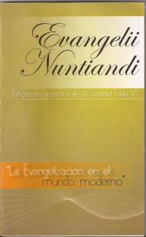 Resultado de imagen de Evangelii nuntiandi